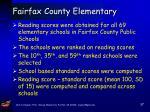 fairfax county elementary