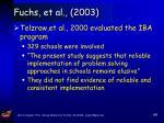 fuchs et al 200366
