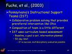 fuchs et al 200367