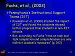 fuchs et al 200368