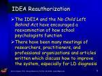 idea reauthorization5