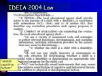 ideia 2004 law88