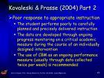 kovaleski prasse 2004 part 2
