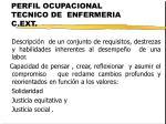perfil ocupacional tecnico de enfermeria c ext