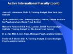 active international faculty cont