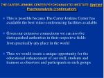 the carter jenkins center psychoanalytic institute applied psychoanalysis continuation