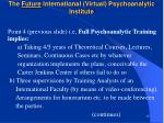 the future international virtual psychoanalytic institute39