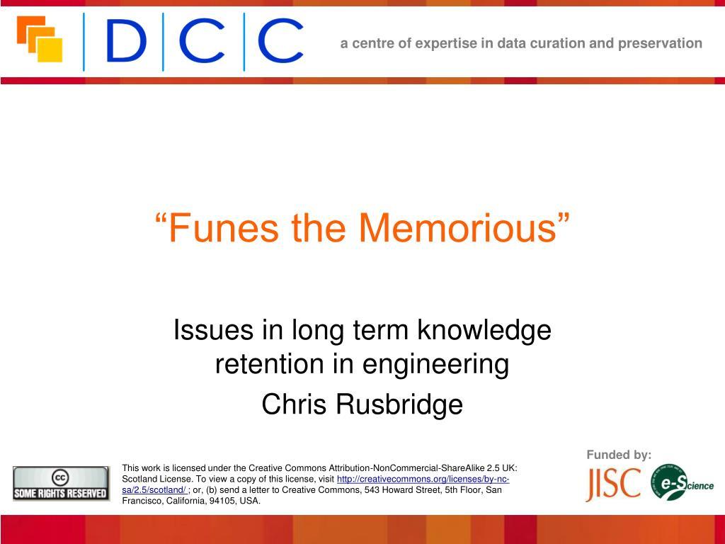funes the memorious l.
