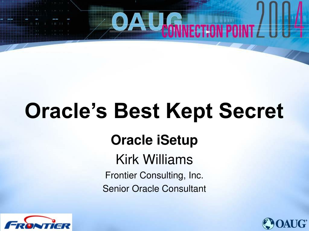 oracle s best kept secret l.