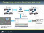 decreasing process improvement time