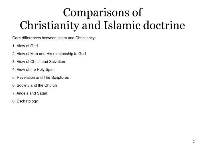 christian and islamic eschatology Ibn al-nafis wrote of islamic eschatology in theologus autodidactus (circa ad 1270), where he used reason, science, and early islamic philosophy to explain how he believed al-qiyamah would unfold, told in the form of a theological fiction novel.