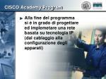 cisco academy program