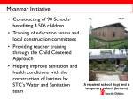 myanmar initiative