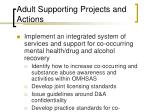 adult supporting projects and actions28