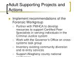 adult supporting projects and actions31