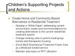 children s supporting projects and actions19