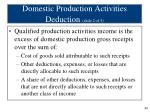 domestic production activities deduction slide 2 of 5