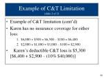 example of c t limitation slide 2 of 2