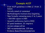 example accp