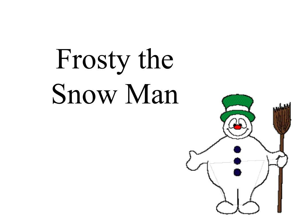frosty the snow man l.