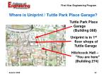 where is uniprint tuttle park place garage