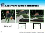 logarithmic parameterization