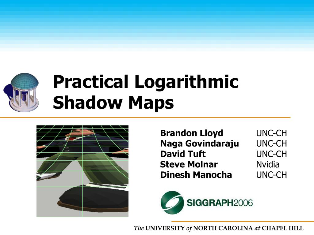practical logarithmic shadow maps l.