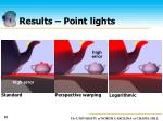 results point lights