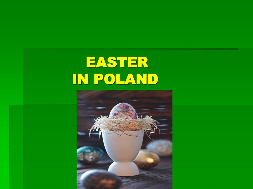 easter in poland l.