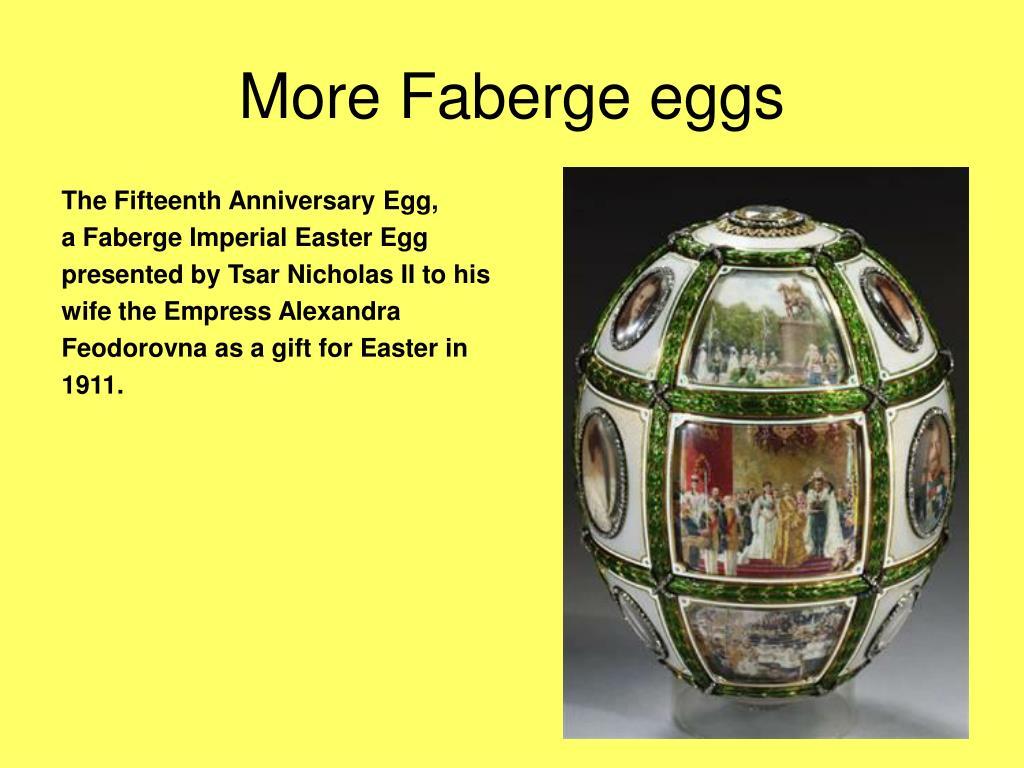 The Fifteenth Anniversary Egg,