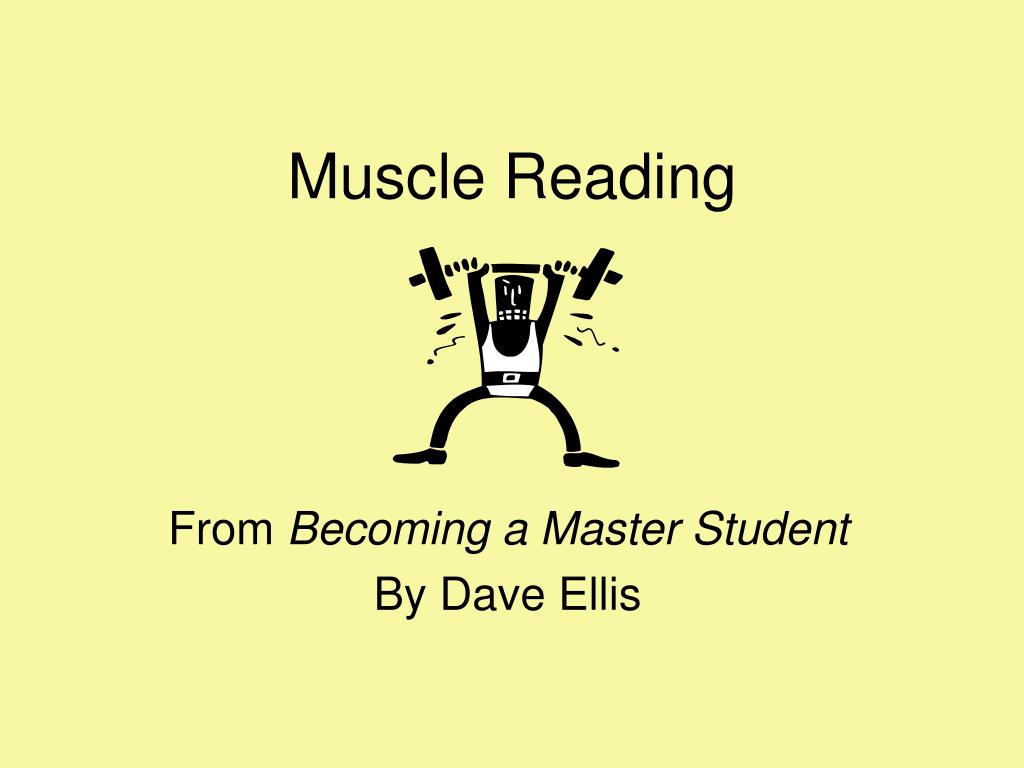 muscle reading l.