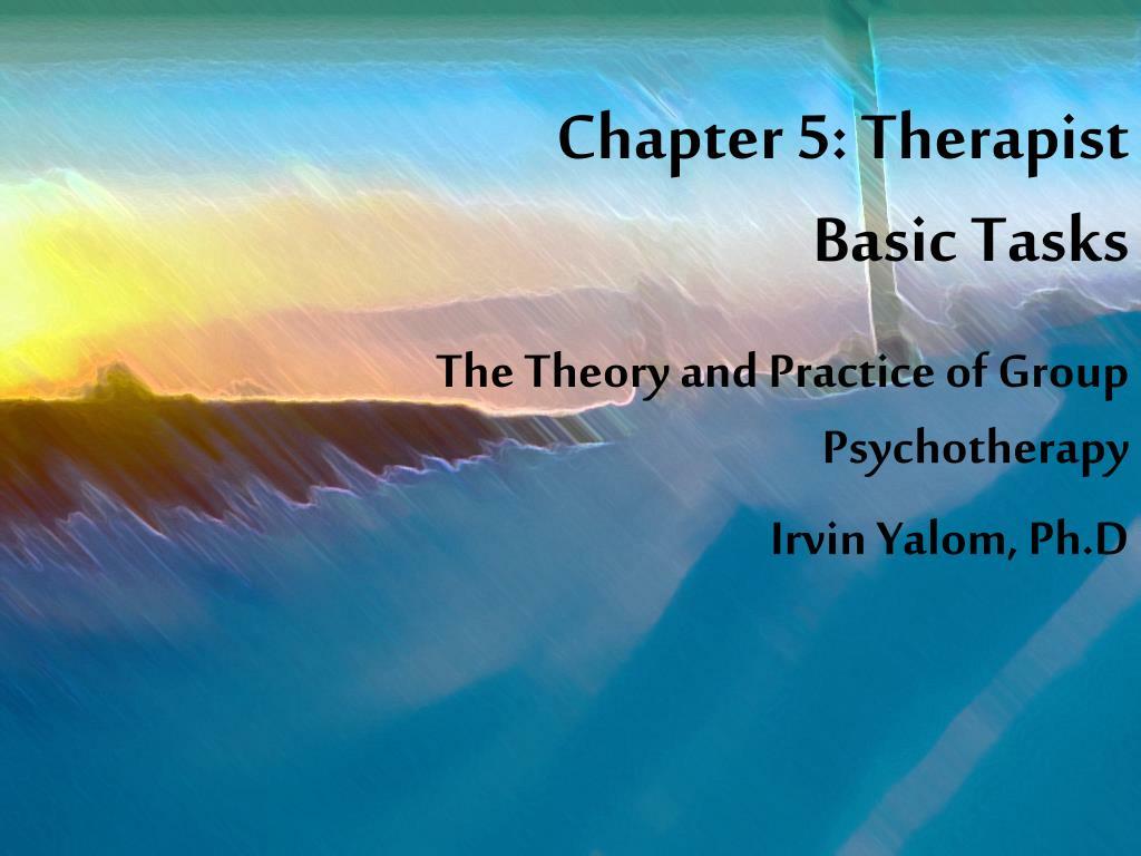 chapter 5 therapist basic tasks l.