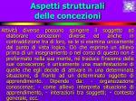 aspetti strutturali delle concezioni22
