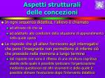 aspetti strutturali delle concezioni23