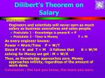 dilibert s theorem on salary