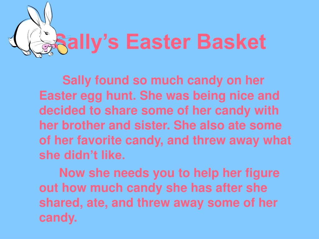 sally s easter basket l.