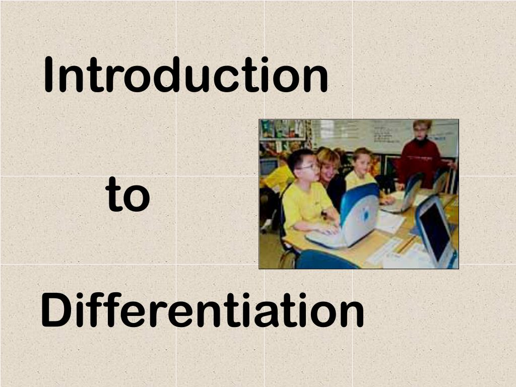 differentiation l.