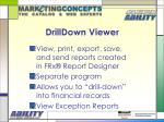 drilldown viewer
