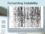 forwarding instability