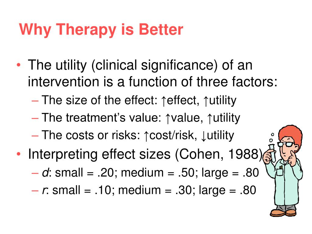 Why Therapy is Better