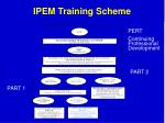 ipem training scheme21