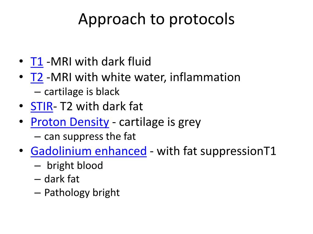 Approach to protocols