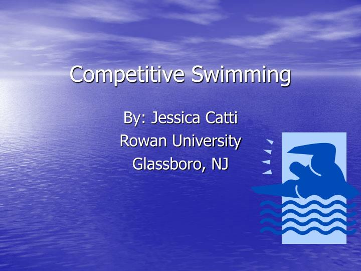 competitive swimming n.