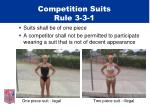 competition suits rule 3 3 1