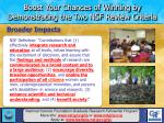 boost your chances of winning by demonstrating the two nsf review criteria14