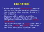 exenatide34