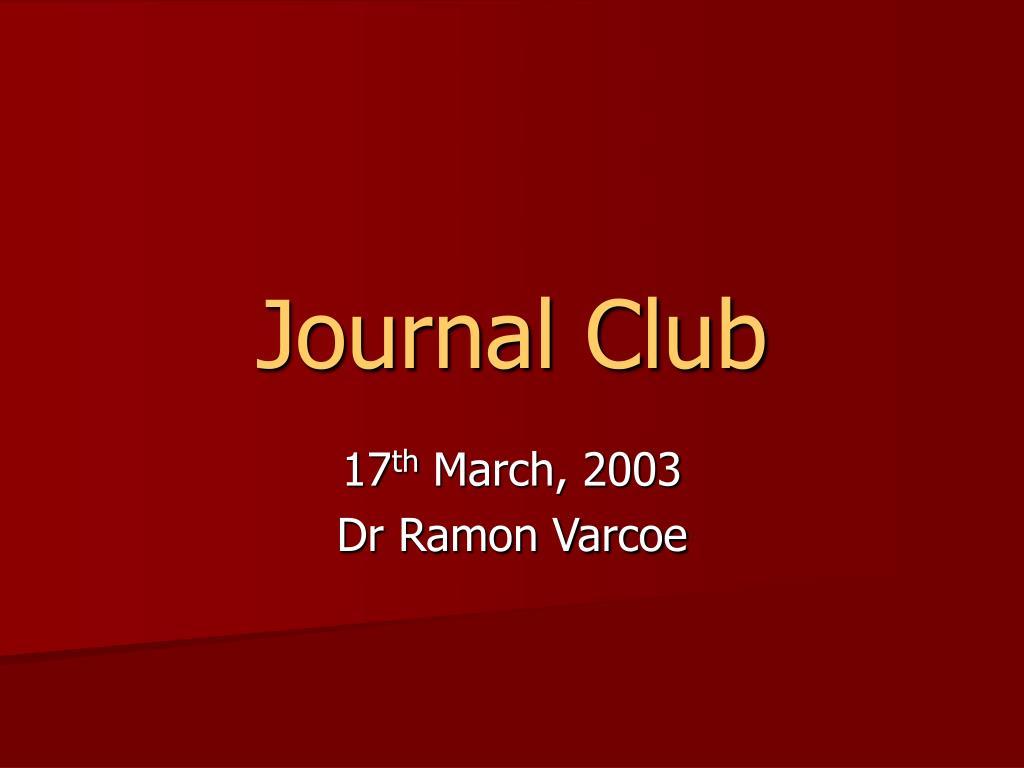 journal club l.