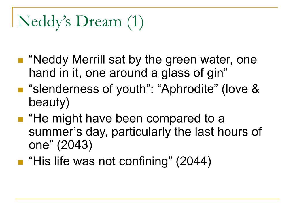 Neddy's Dream (1)