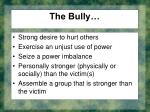 the bully
