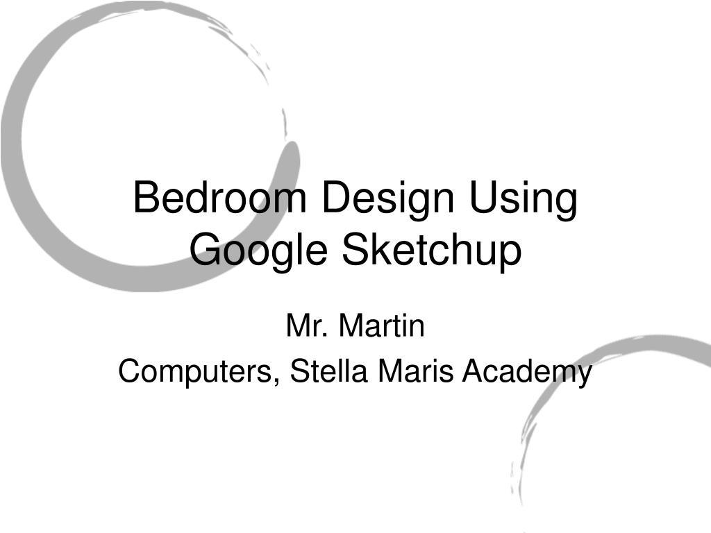 bedroom design using google sketchup l.